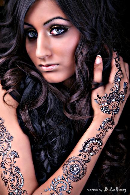 Bridal Mehndi Leicester : Sanah`s henna april
