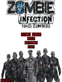 Zombi Infection, juego para Sony Ericsson