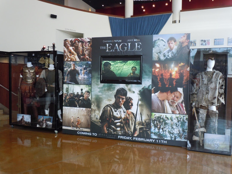 The Eagle movie costume display