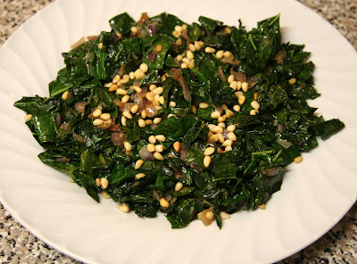 ... Confused: Bon Appetit: Quick Sautéed Kale with Toasted Pine Nuts