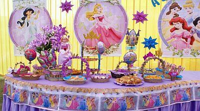 Fiestas infantiles de la bella durmiente - Decoracion cumples infantiles ...
