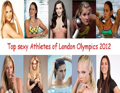Top sexy Athletes of London Olympics 2012