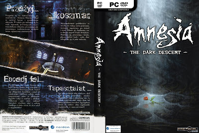 Amnesia The Dark Descent PC DVD Capa