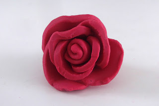 modeling clay, rose, play doh, play dough, flower, clay, polymer clay, kids crafts, crafts