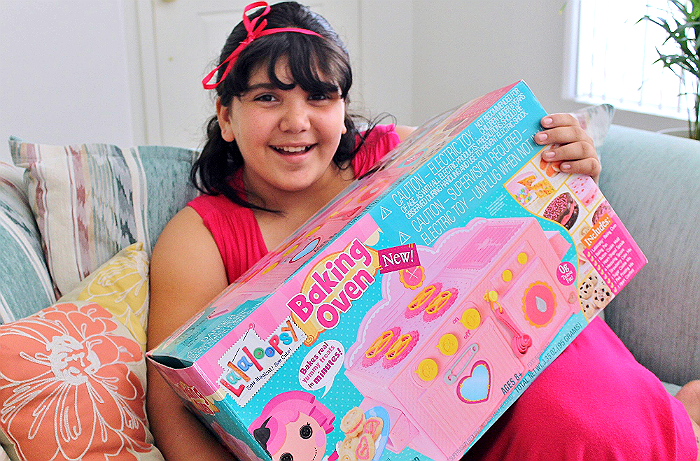 LaLaLoopsy Baking Oven- Miniature Oven That Bakes Real Sweet Treats! #sp