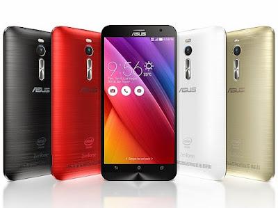 Spesifikasi dan Harga Asus Zenfone 2 Series juli 2015