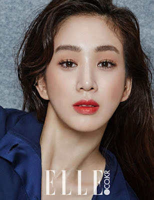 Jung Ryeo Won Elle October 2015