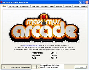 Download Maximus Arcade Frontend 2.10 Baixar