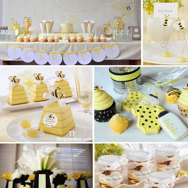 bee baby shower theme for the mommy to bee