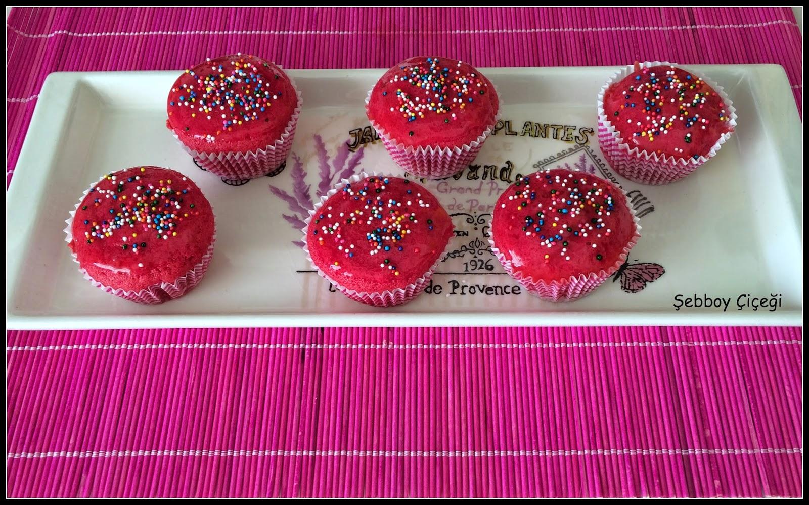 Pink Velvet Cake veya Pembe Kek