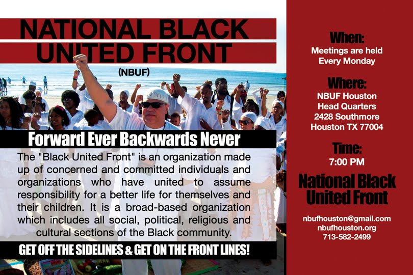 National Black United Front - Houston Chapter