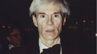 Never-seen-before shot of Andy Warhol