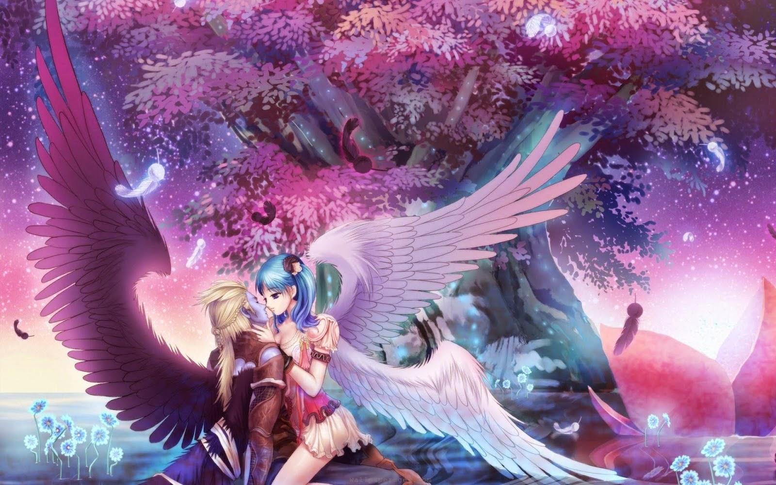 Anime Love HD desktop wallpaper 1920x800