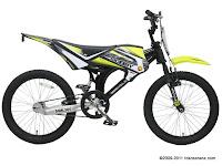 Sepeda MTB Wimcycle Mobby Single Speed 20 Inci