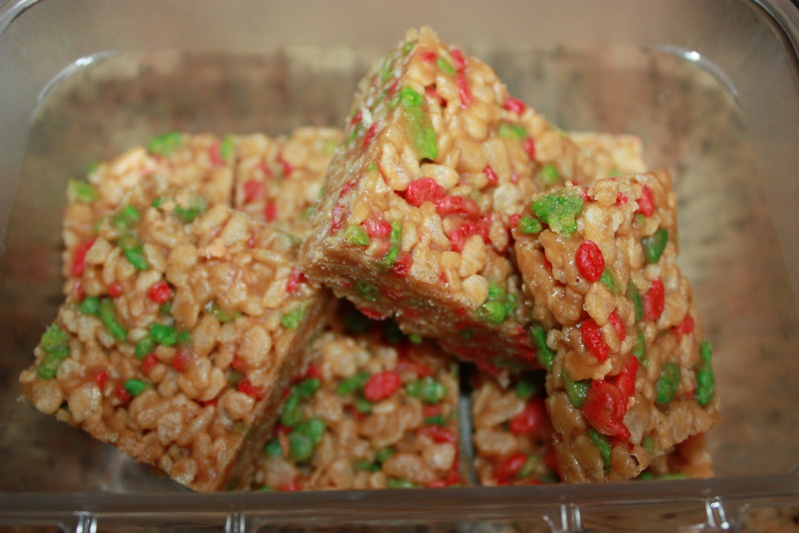 peanut butter holiday rice crispy squares chocolate covered rice ...