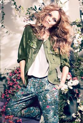 HM primavera 2013 Conscious chaqueta mujer