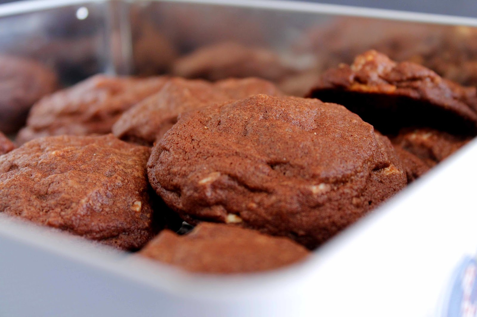 Receta Cookies o galletas de chocolate