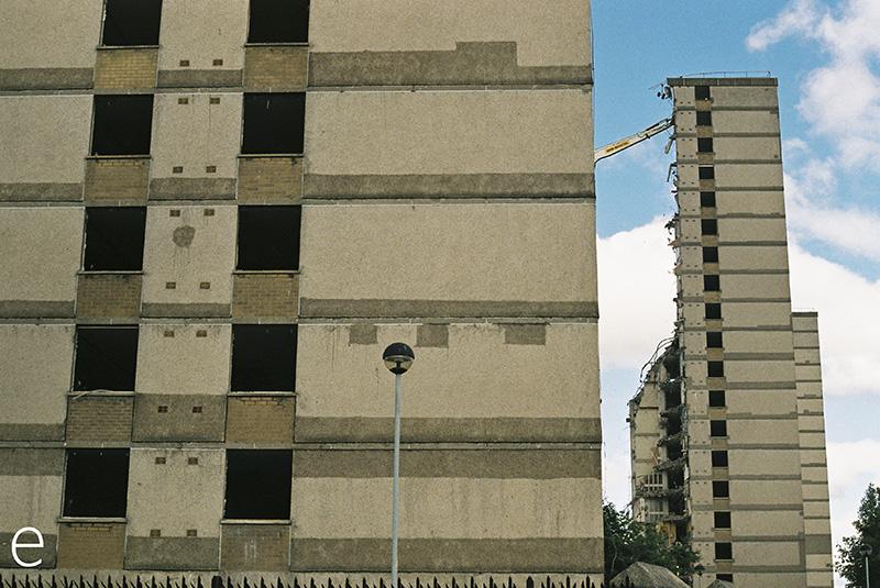 Govan Demolition, Glasgow