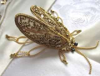 Kerrykatiecakes Arlene S Stumpwork Beetle
