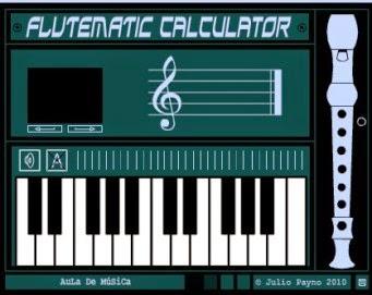Posicións en frauta e teclado!!