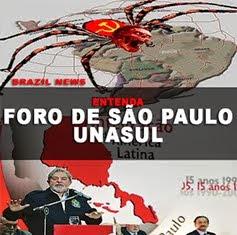 FORO DE SÃO PAULO (UNASUL)