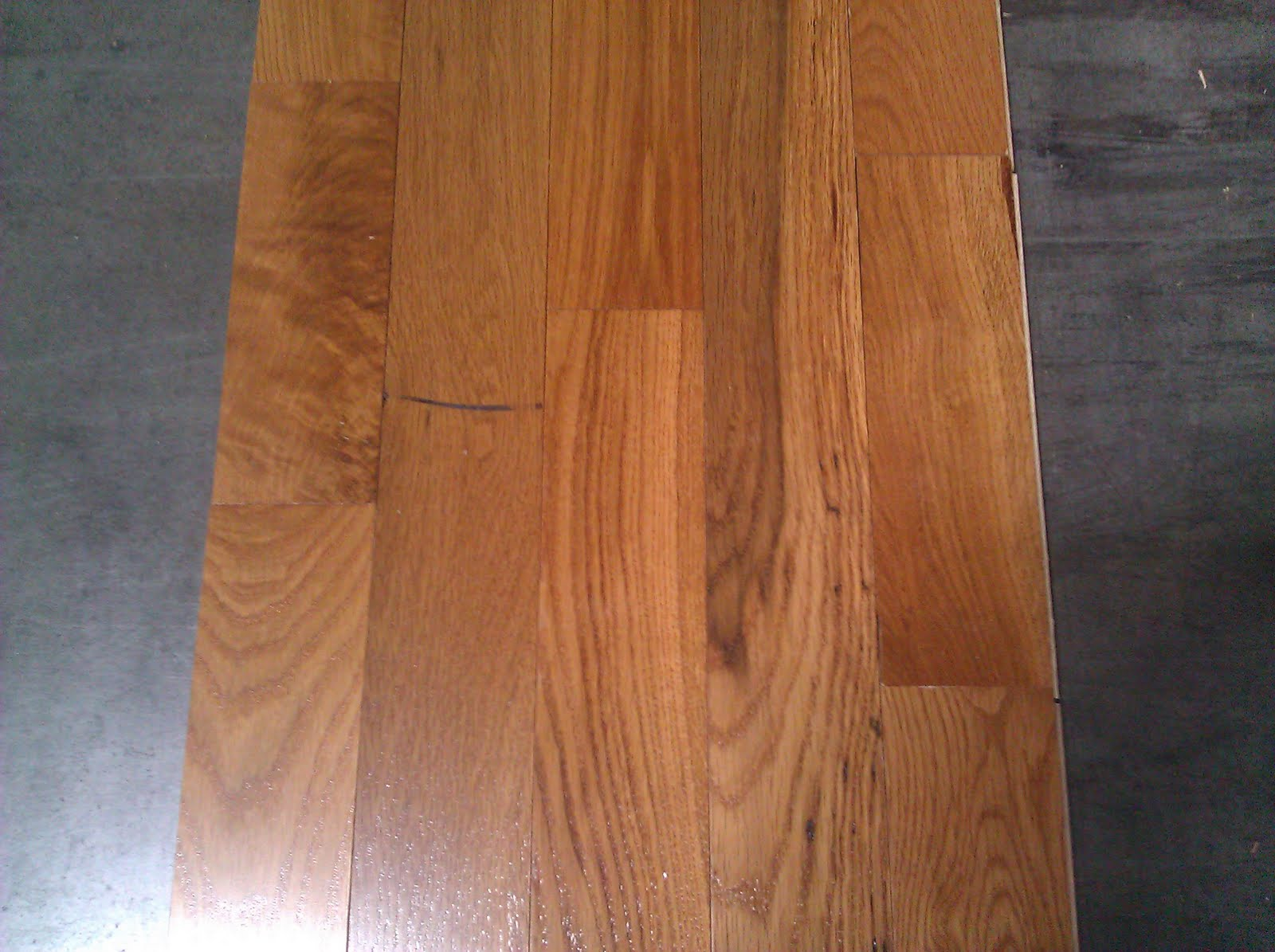 Columbia Cabin Grade Congress Honey Oak Hardwood Flooring Denver