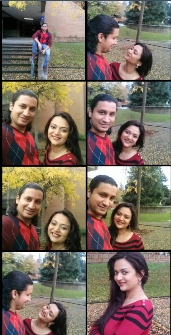 Selfie couple, Guy wearing argyle sweater and brown boots, Indian Male fashion blogger, Indian couple fashion blogger, Argyle Sweater for men, Male fashion blogger