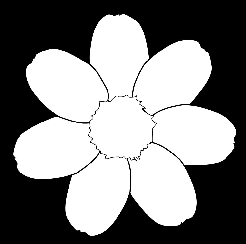 Black and white flower clip art many flowers black and white flower clip art flowers black and white mightylinksfo
