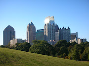 Midtown Atlanta Skyline. My beautiful home city and the place that my warms .