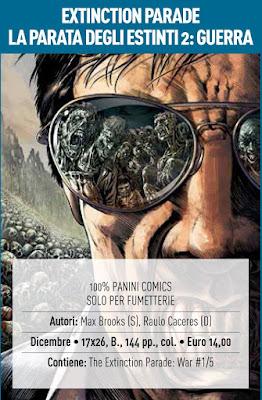 Extinction parade (La parata degli estinti) #2: Guerra