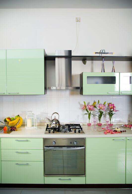 Cabinets For Kitchen: Pictures Of Green Kitchen Cabinets