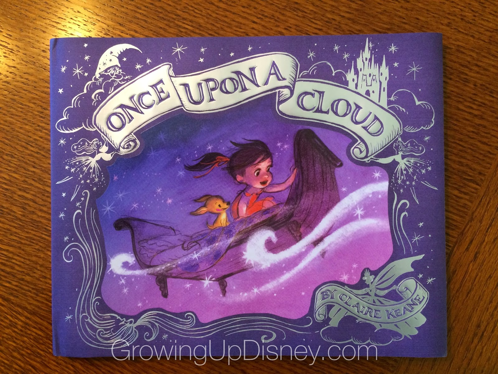 Once Upon A Cloud, the debut picture book from Claire Keane (Glen Keane's daughter)