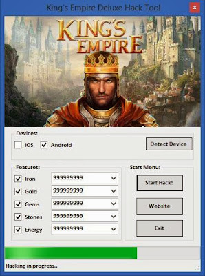 King Empire Deluxe Hack
