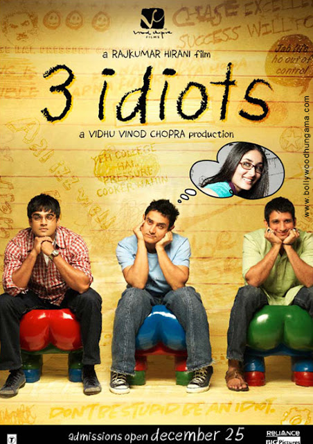 الفيلم الكوميدي 3 Idiots (البلهاء الثلاثة) مترجم وكامل فقط على كلام العين