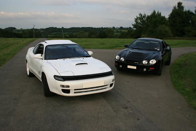 Toyota Celica ST185 GT4 & Toyota Celica T205 GT4, japoński sportowy samochód, legenda, kultowy, AWD