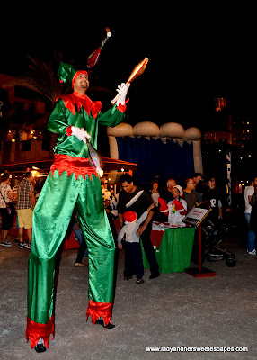 Christmas Elf at Souk Festive Market