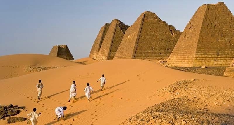 Nubian PyramidsSudan 800x428