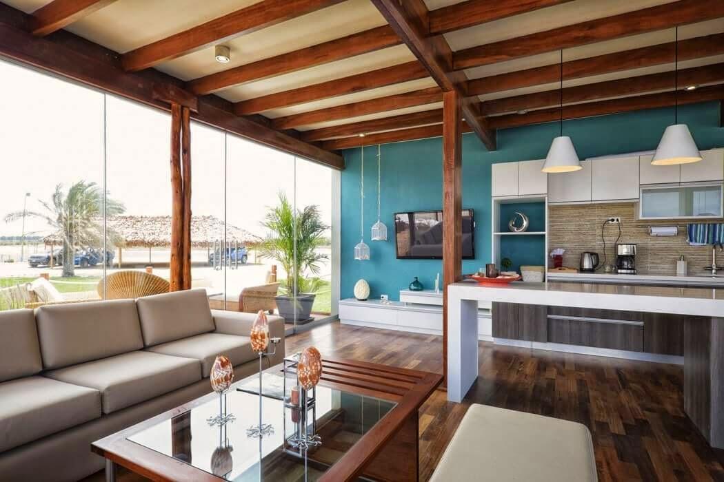Dosis arquitectura casa en playa del carmen peru for Parrillas para casa de playa