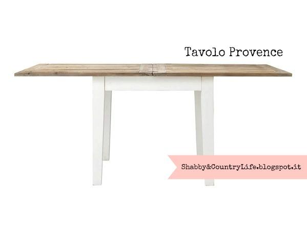 Tavolo Provence- Maison du monde - shabbyecountrylife.blogspot.it