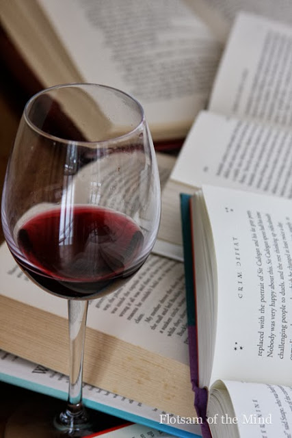 Books and Wine - Flotsam of the Mind