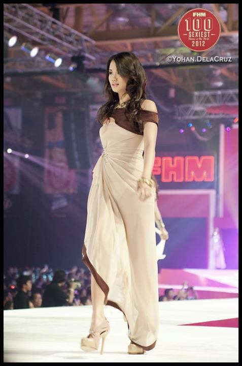 danica torres sexy gown at teh 2012 fhm philippines 100 sexiest victory party 01