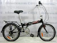 1 Sepeda Lipat Pacific 2588 Rangka Aloi 20 Inci