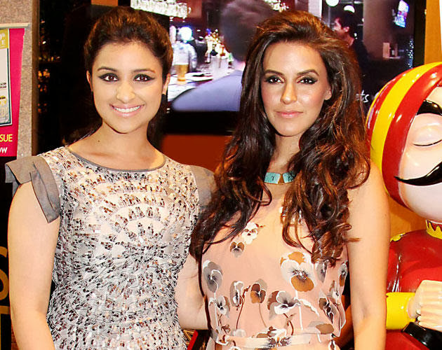 Latest Images of Parineeti Chopra with Neha Dhupia