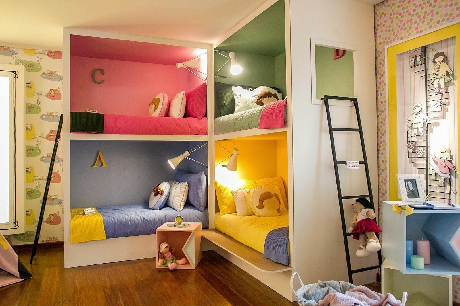 Por isso trouxe algumas imagens com decorações de quartos super  #B78F14 1600x1067