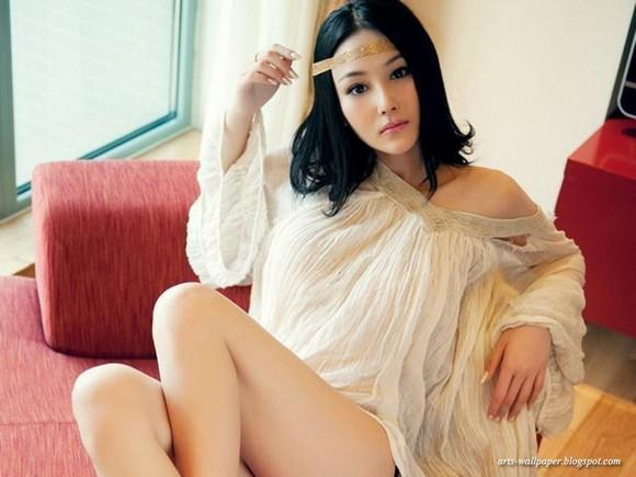 Girls Beauty Wallpaper Zhang Xinyu 38