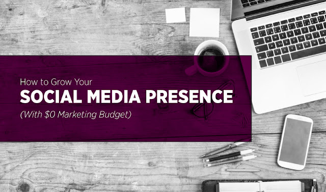 How to grow your social media presence on a tight budget