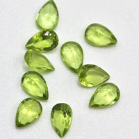 Natural Peridot Gemstones