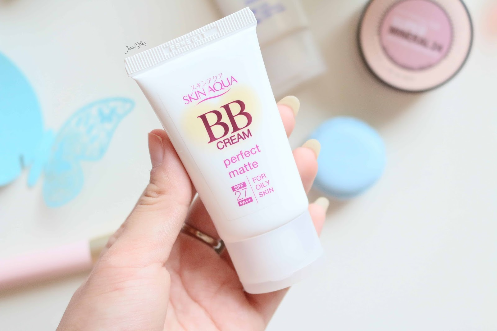 skin aqua, bb cream, makeup, review, japan, everyday, perfect matte, perfect moisture