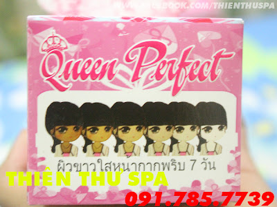 Kem Body Queen Perfect  , Kem Face Queen Perfect - Thiên Thư Spa