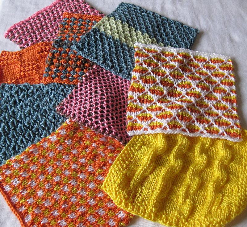 Knitting Squares How Many Stitches : Utsikter, insikter, asikter: 76. Det ar rillorna som gor det!